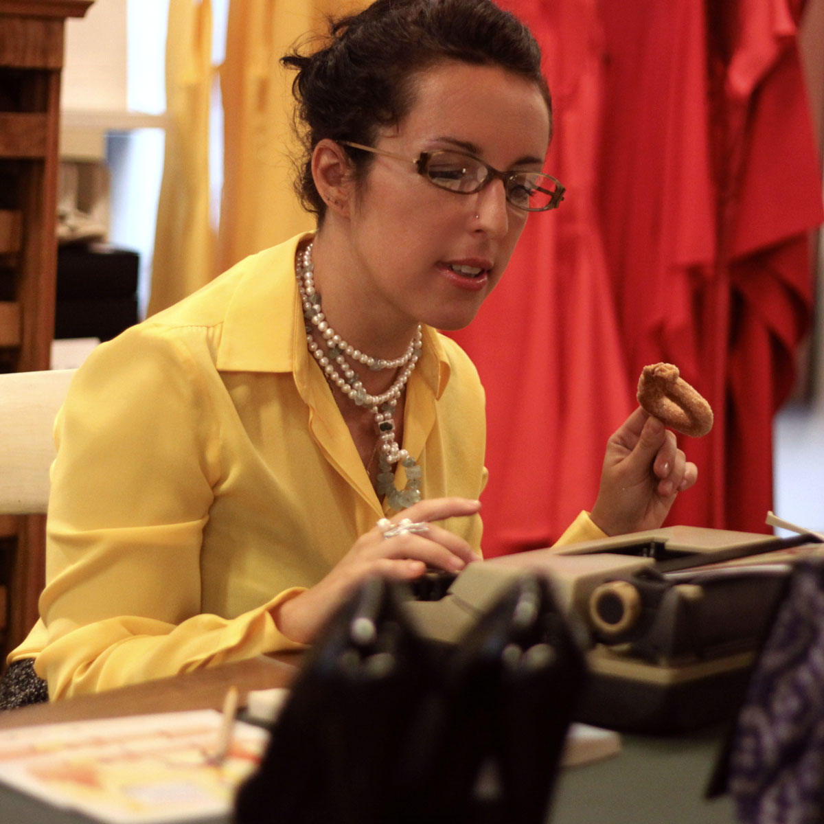 Erica Vagliengo creatrice di Emma Travet e autrice di Voglio scrivere per Vanity Fair