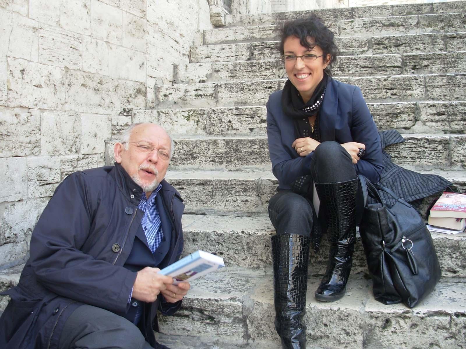 presentazione-romanzo-2010-04-festival-giornalismo-perugia-con Vittorio Zucconi