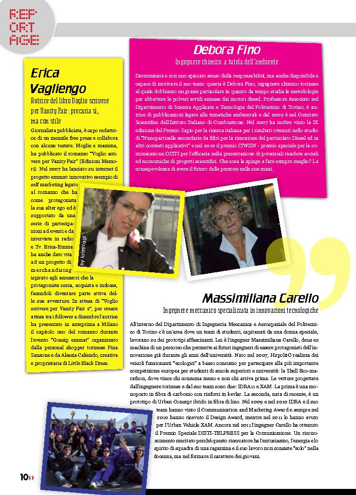 Il Punto, 2012 Articolo di Barbara Odetto