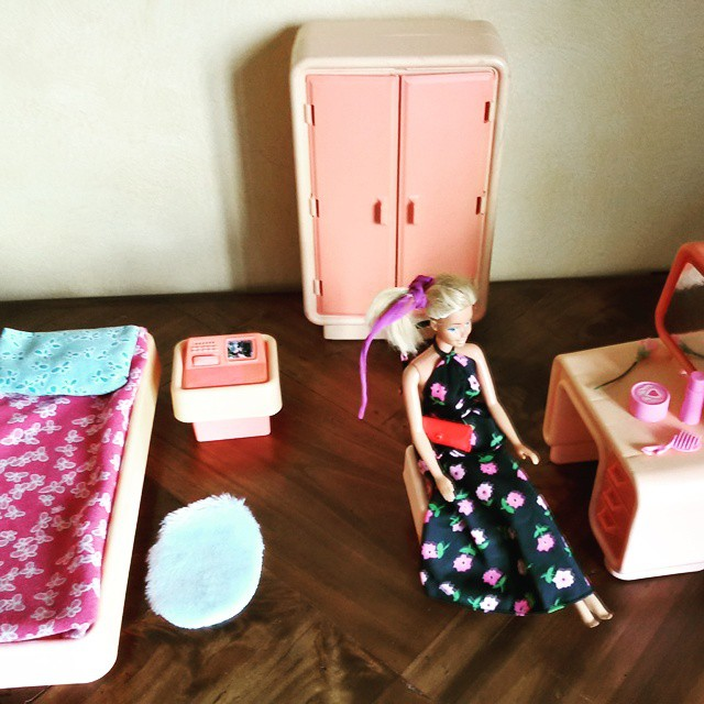 La camera da letto di Barbie del 1977 - Emma Travet