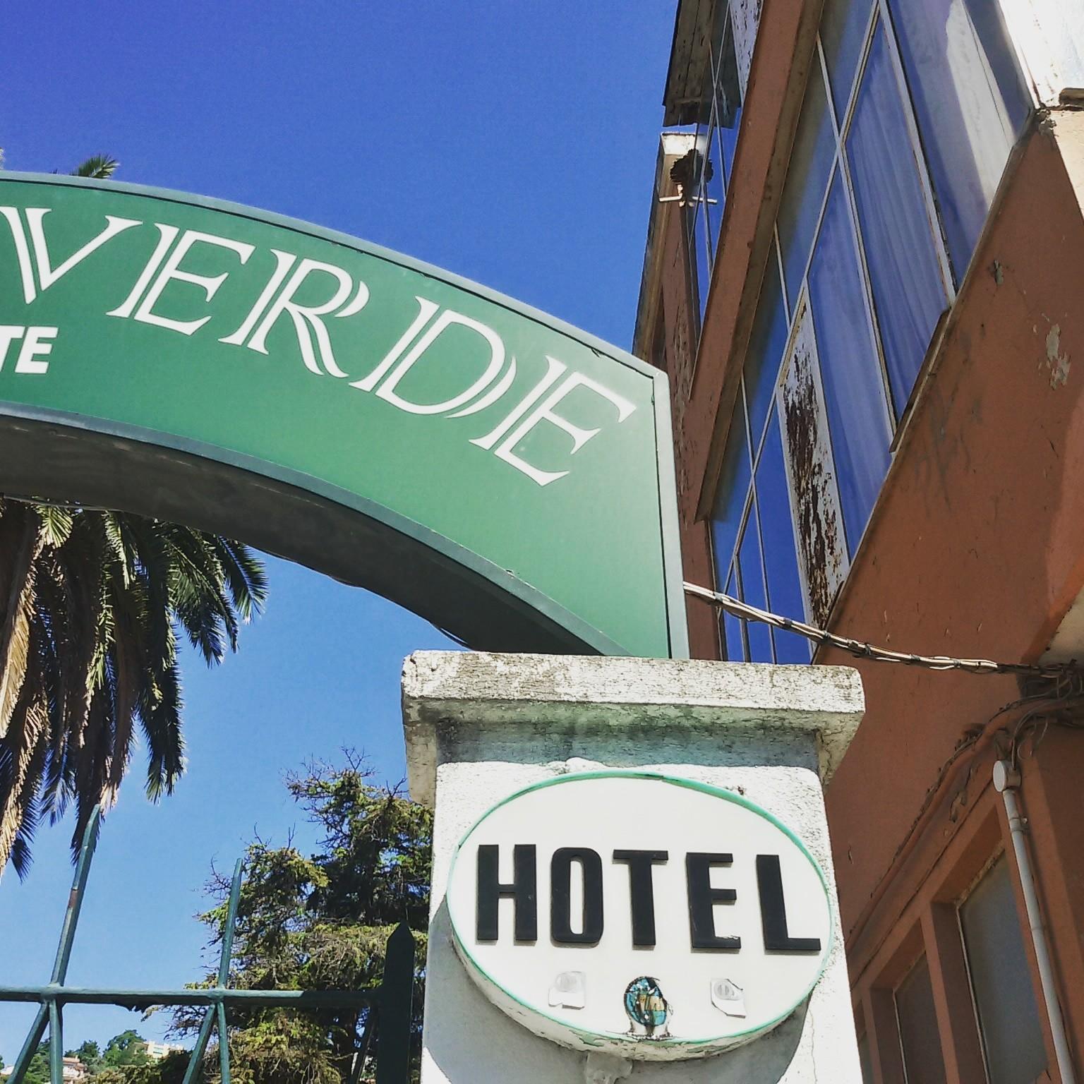 L'hotel una stella Villa Verde ad Albissola