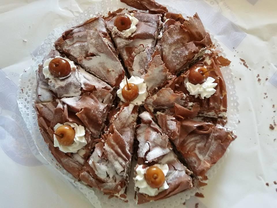 La famosa torta Zurigo di Pinerolo