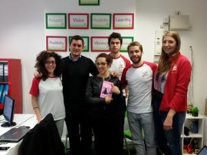 Sergio e lo staff di Italiani a Londra.net