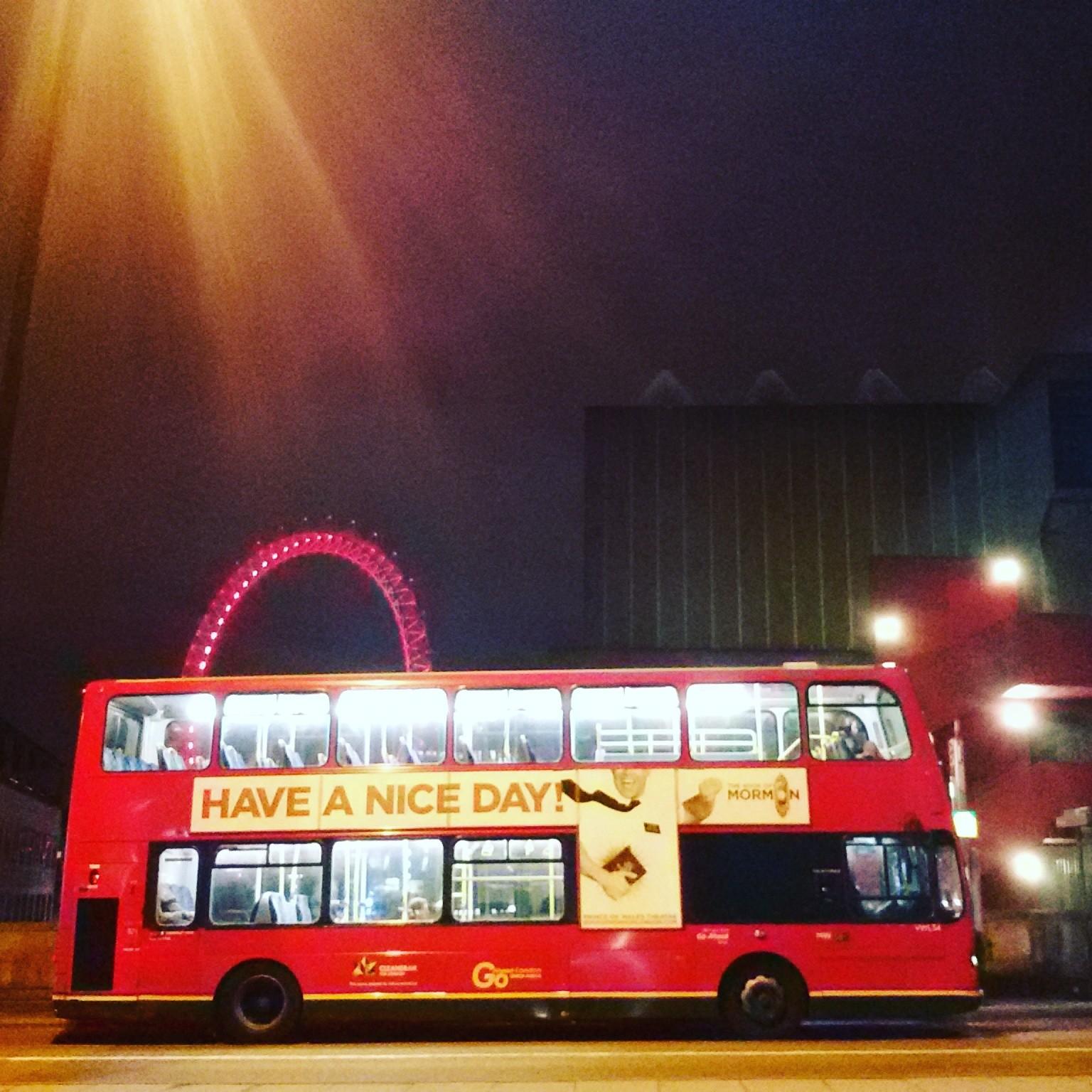 london bus by erica vagliengo