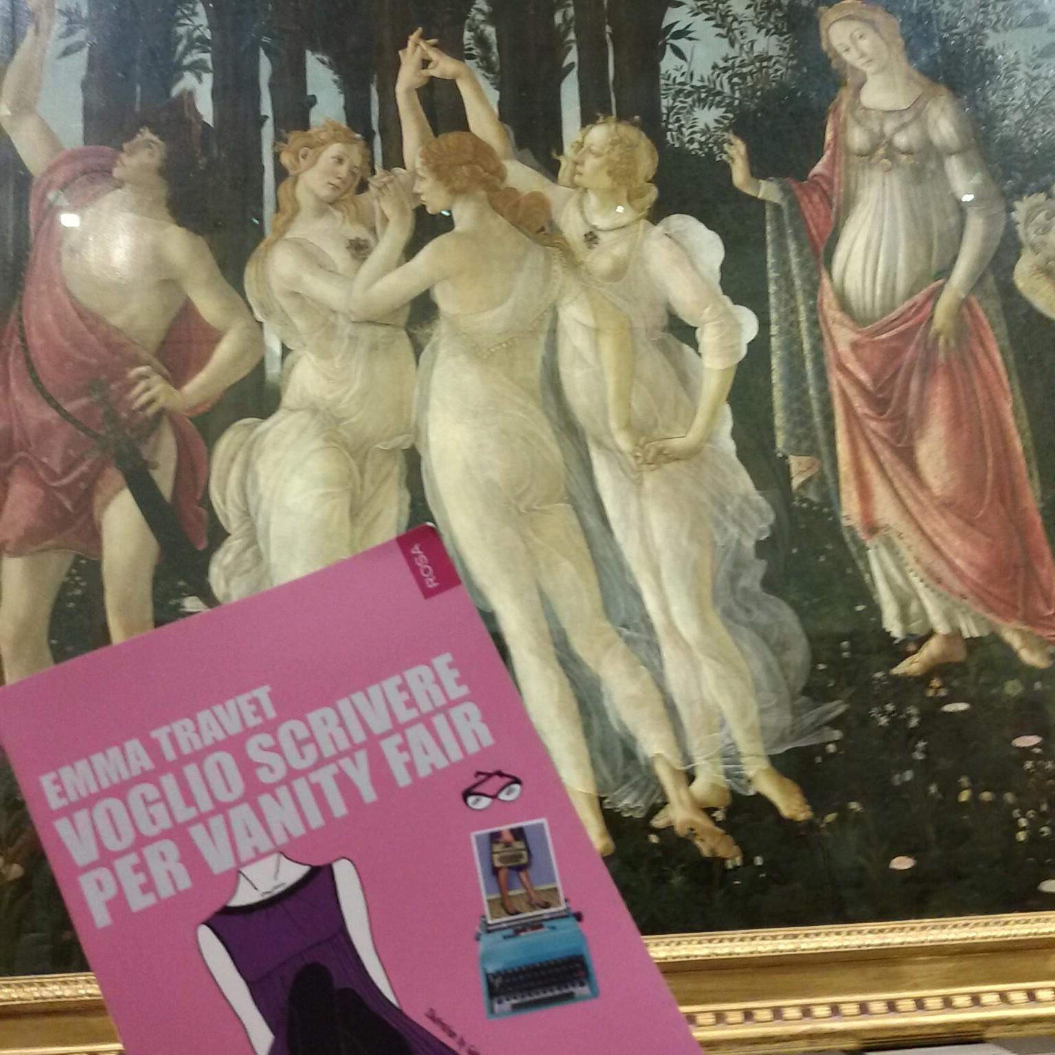 La Primavera del Botticelli con emmat