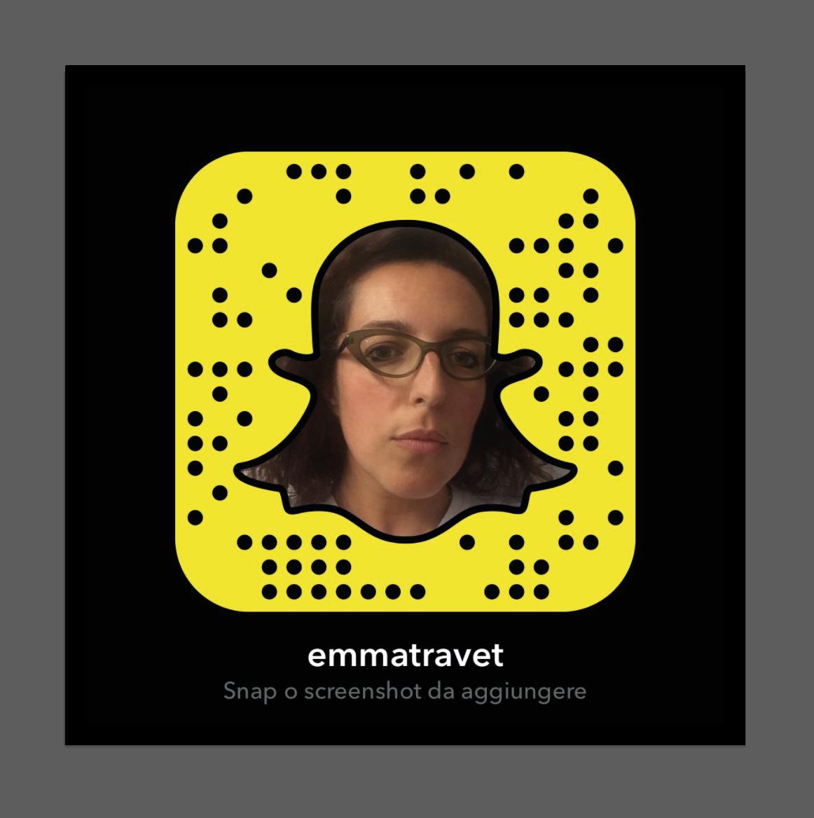 snapchatcode emma travet